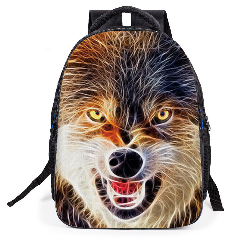 2018 years kids backpack Cartoon children backpacks tiger children school bags fashion School orthopedic satchel