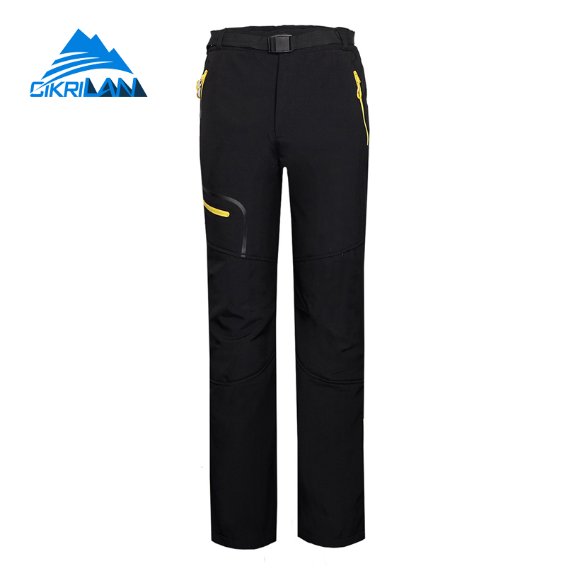 Outdoor Camping Climbing Trekking Softshell Pants Men Windstopper Hiking Tcctical Trousers Sport Pantalones Senderismo Hombre elmos bg 800