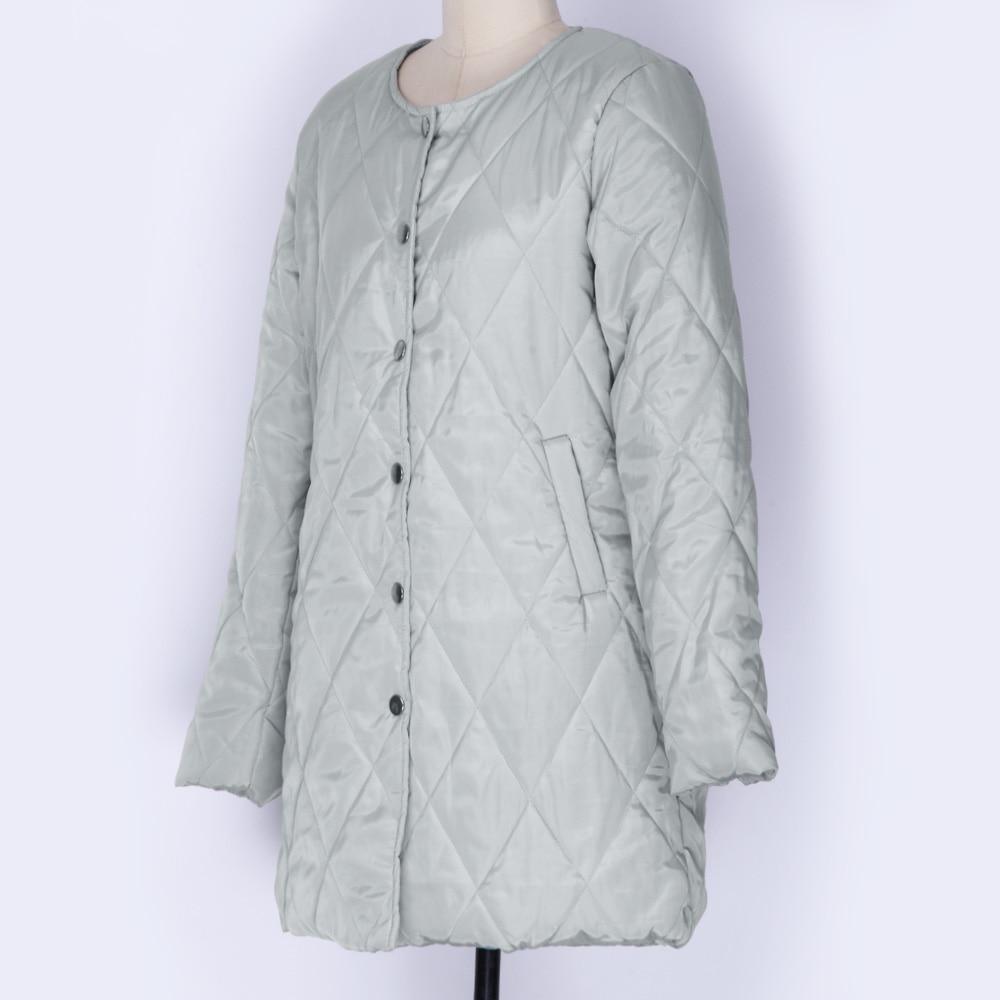 Winter Plus 2018 Casual Wipalo Coat Cotton Women v8mNn0w