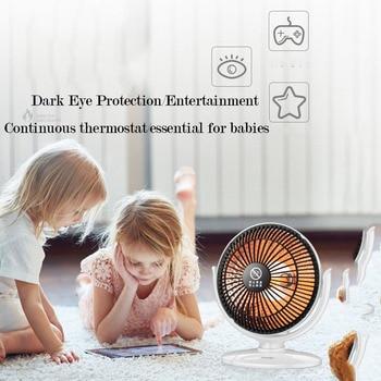 Luce Di Calore Del Bagno | Riscaldatore Elettrico Mini Riscaldatore Di Ventilatore Desktop Di Famiglia Muro Del Bagno A Portata Di Mano Di Riscaldamento Stufa Radiatore Macchina Più Caldo Per L'inverno Scrivania