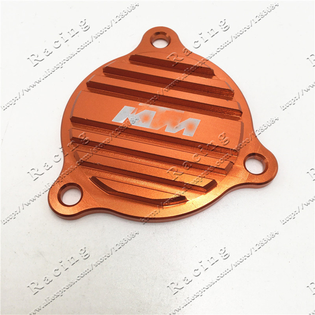 Billet Oil Pump Cover For KTM 250 350 450 400 500 530 SXF XCF XCFW XCW EXCF SXS07450265 Free Shipping