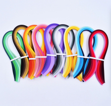 54cm length mix color 3MM Quilling Paper supplies for handmade paper patterns material