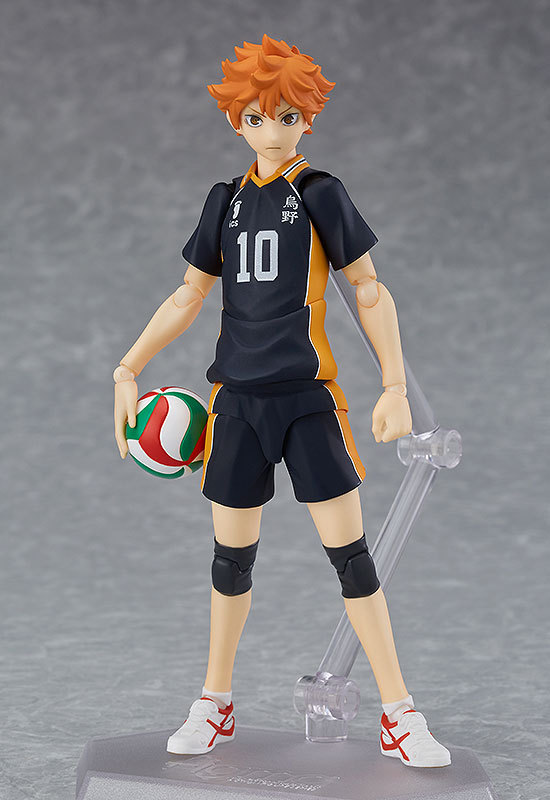New Haikyuu Figma 358 Hinata Shoyo PVC Japanese Anime Volleyball Figures Model Toys Birthday Gifts