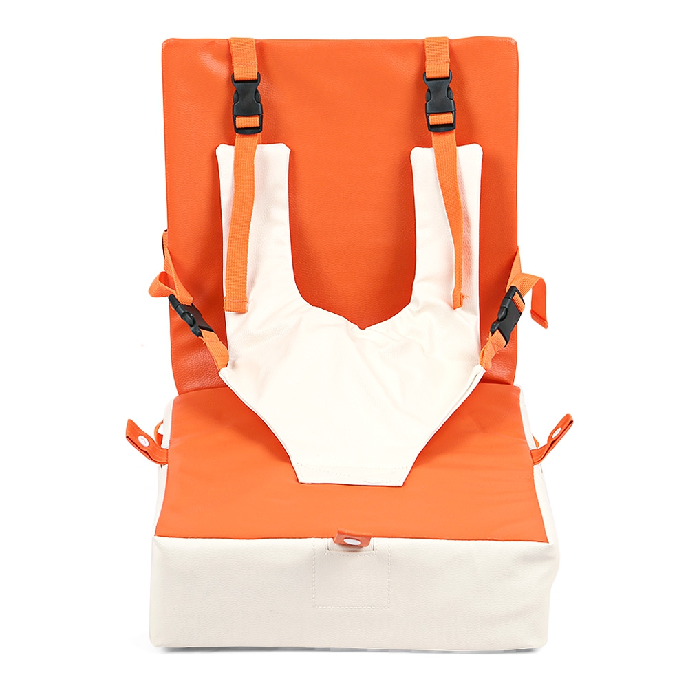 Baby Toddler Children Heightening Cushion Seat Feeding Chair Folding Leather Waterproof Baby Sitting Chair 0 3 Years Kids Chair