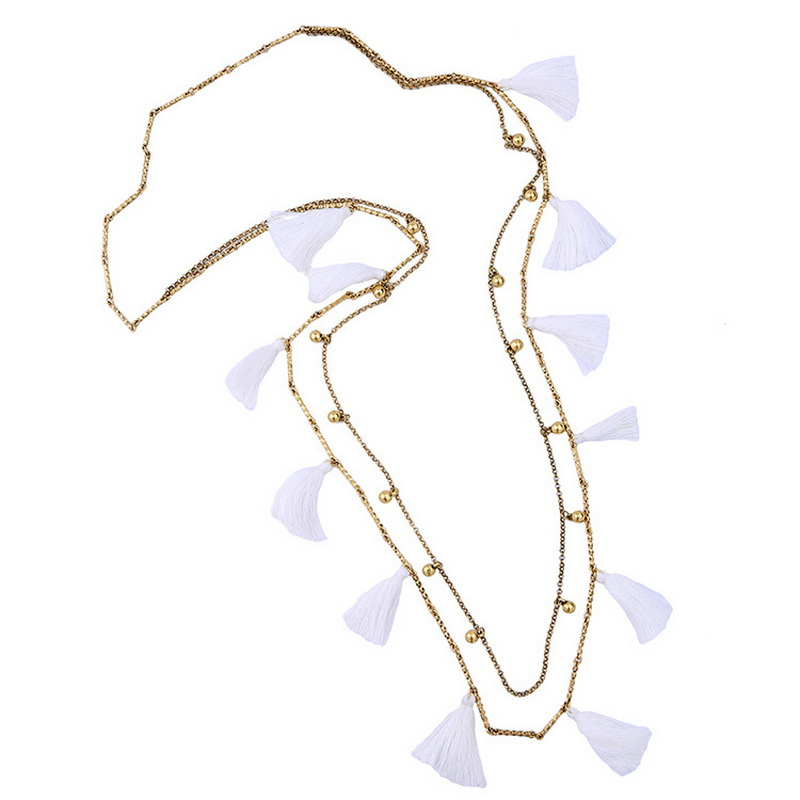 Wholesale stella jewelry vintage gold white soft silk for Stella and dot jewelry wholesale