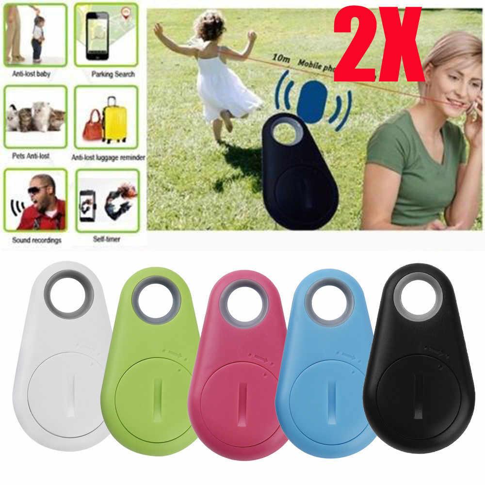 1/2 шт Анти-потерянный кражи прибор для сигнализации с дистанционным управлением по Bluetooth gps устройство для слежения за ребенком карман для маячка для животных