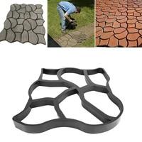 Garden Concrete Molds Paving Brick for DIY Plastic Path Maker Mold Paving Cement Brick Molds Stone Road Concrete Mold For Road