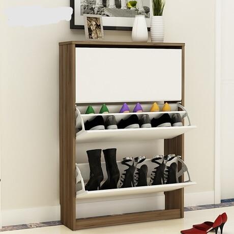 Shoe Cabinets Shoe Rack Home Furniture wood shoe shelf 80