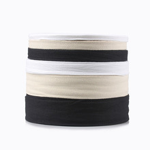 50 Yards White Twill Cotton Webbing Tape Bias For Bag Home Textile Handmade Craft 10mm/15mm/20mm/25mm/30mm/40mm/50mm/60mm Width
