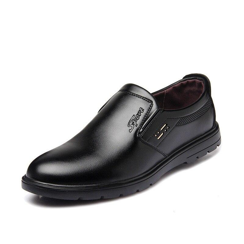 Homens Alta Luxo Qualidade Sapatos De Couro Dos Da Confortável Clássicos Moda Primavera Ms8116181 Escritório Sapatas H1parqWH