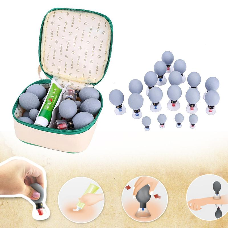 Chinese Professional Ventouse Cellulite Silicone Anti Cellulite Vacuum Cup Silicone Massage Cupping Set пак ц pack cellulite
