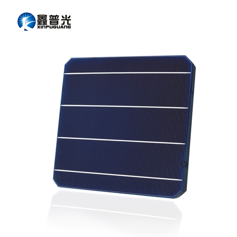 XINPUGUANG 40PCS 4.8w mono cell l 156*156MM PV Photovoltaic monocrystalline Silicon DIY 180w 190w solar panel 0.5v Grade A