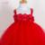 2017 Nueva Niña Partido de La Princesa Ropa Tutu Vestido de Los Niños Muchachas Del Vestido Del Estilo Muchachas de Los Cabritos Ropa
