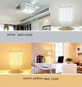 Image 3 - E27 B22 E40 E14 LED Lamp AC 220V Light Bulb LED 5W~150W 5730 2835SMD Corn Bulb Energy Saving Lamp For Home Decoration Light