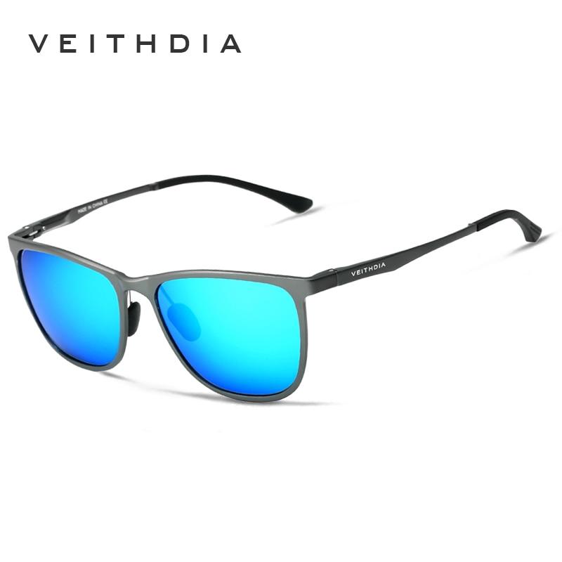 VEITHDIA Retro Aluminium Magnesium Brand Lelaki Cermin mata hitam - Aksesori pakaian - Foto 4