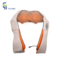 Electric Massage Machine Neck Shoulder Back Massager Infrared Therapy Heating Kneading Shawls For Home Car Office