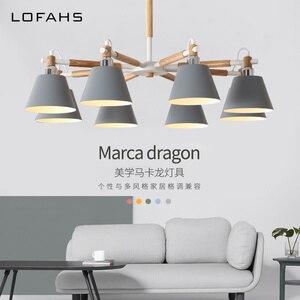 Modern led chandelier for livi