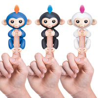 Fingerlings Interactive Baby Monkeys Smart Colorful Finger Monkey Smart Induction Toys Christmas Gift Toy For Kids