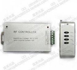 DC 12-24 V bezprzewodowy 144 W kontroler RF panel dotykowy ściemniacz LED RGB pilot zdalnego sterowania dla taśmy LED RGB darmowa wysyłka