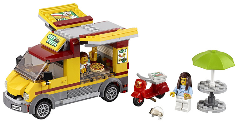 Bela 10648 City Series City Pizza Van Kitchen Space Figure Building Block 261pcs Bricks Toys Gift For Children 60150 compatible lepin city block police dog unit 60045 building bricks bela 10419 policeman toys for children 011
