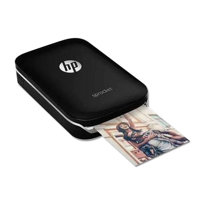 Pocket Photo Printer Mobile Pahone Bluetooth Portable Printer Mini Home Sprocket For New Hp ZINK Photo Paper Printing No Ink
