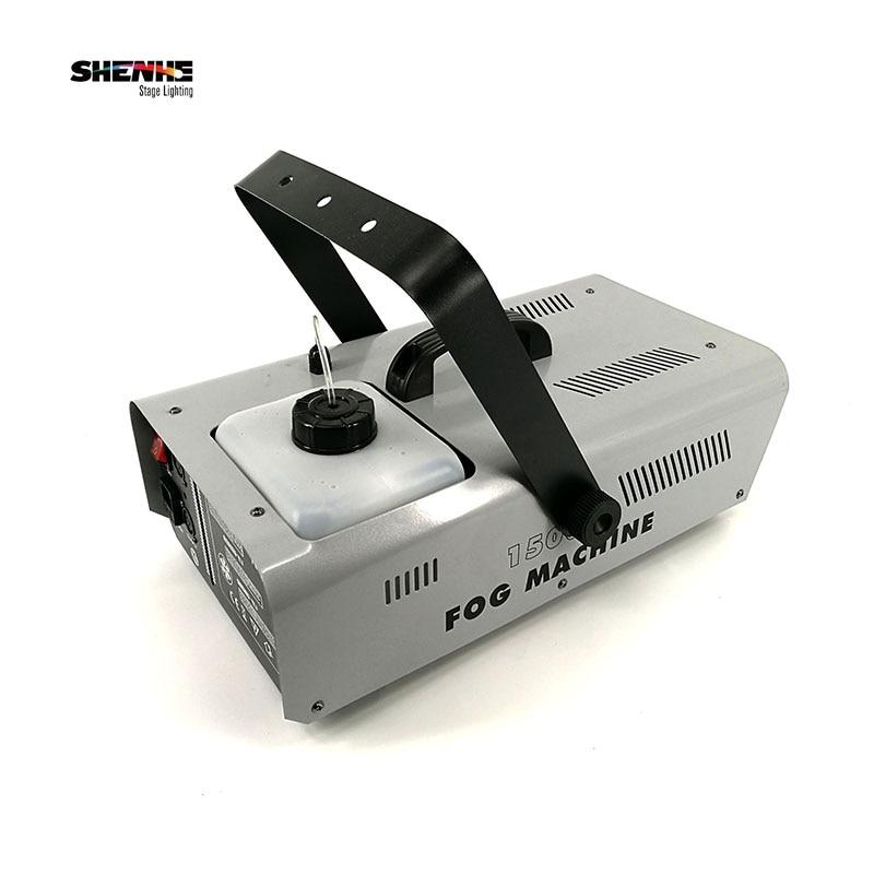 (2pcs) RGB 3in1 RC1500W wire/remote control Smoke Machine/Fog Machine Fogger Stage Effect Light Professional dj equipment цена 2017