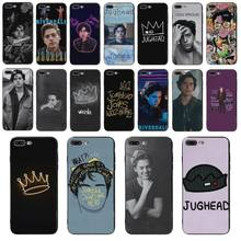 Yinuoda TV Riverdale Jughead Jones Hitam Lembut Shell Cover Case untuk iPhone 5S X 8 8 P 6S 6 Plus X XS XR Xsmax 6S Plus 7 7 Plus Tritone(China)