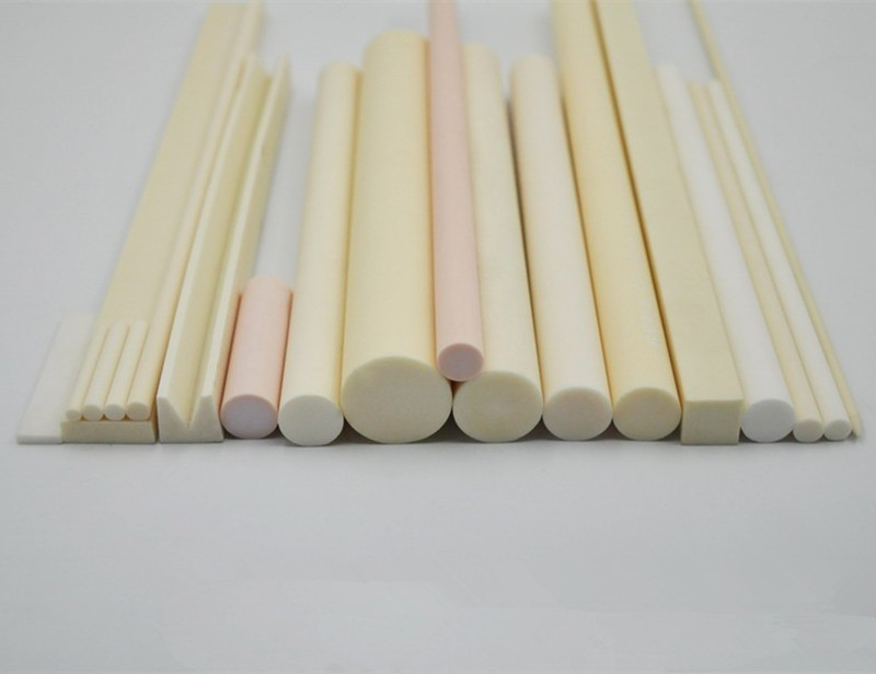 99.5% alumina ceramic rod / wear high temperature ceramic rod / solid rod /diameter = 16mm/diameter = 5mm 16mm ceramic