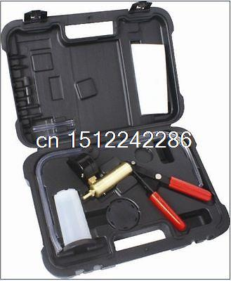 Deluxe Hand Held Vacuum Pump Brake Bleeder Tool Kit Cars Motorcycles N008099