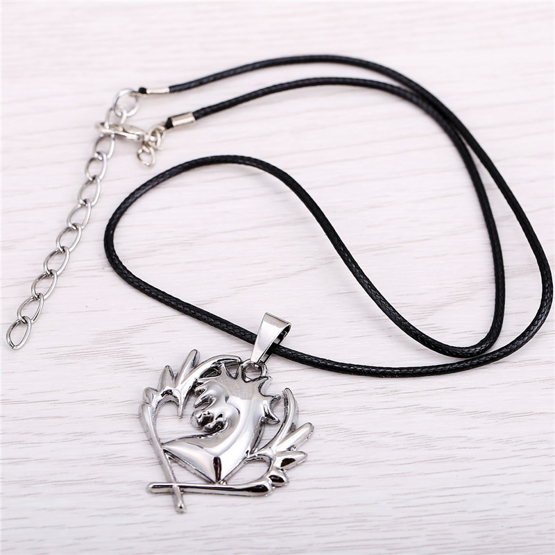 Cosplay Fairy Tail Necklace Cyan Horse Symbol Of High Quality