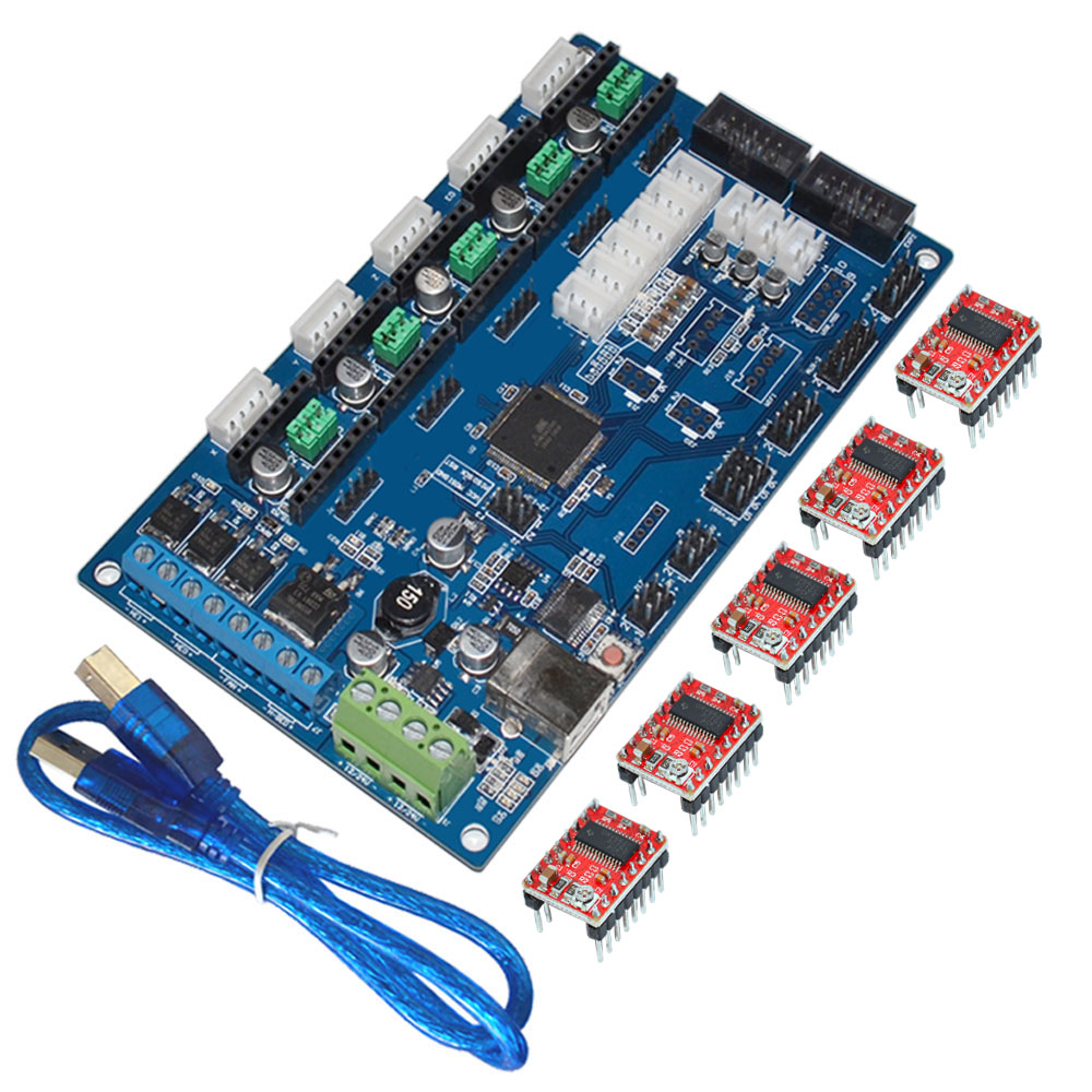 Keyes Control Board Mks Gen V1 2 For 3d Printerwith Usb Line And