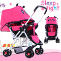 New stroller portable sit can be lying baby carriages baby cute cartoon.