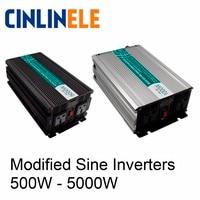 Smart Modified Sine Wave Inverter DC 12V 24V 48V To AC 110V 220V Solar Power 300W