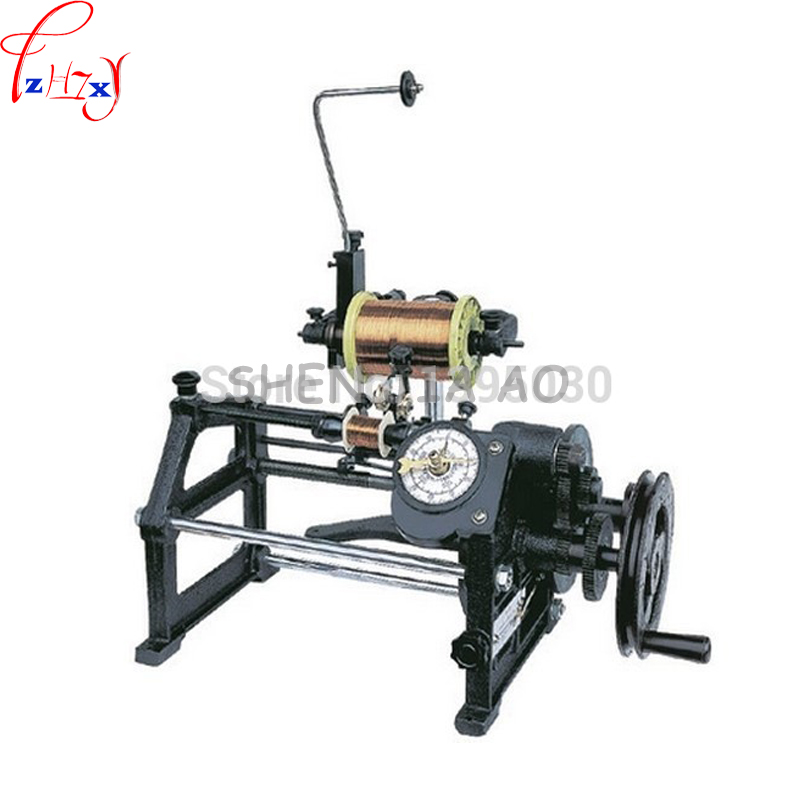 Winder New Manual Automatic Coil Hand Winding Machine USG NZ-2 mechanical control automatic line automatic arranging small coil цена
