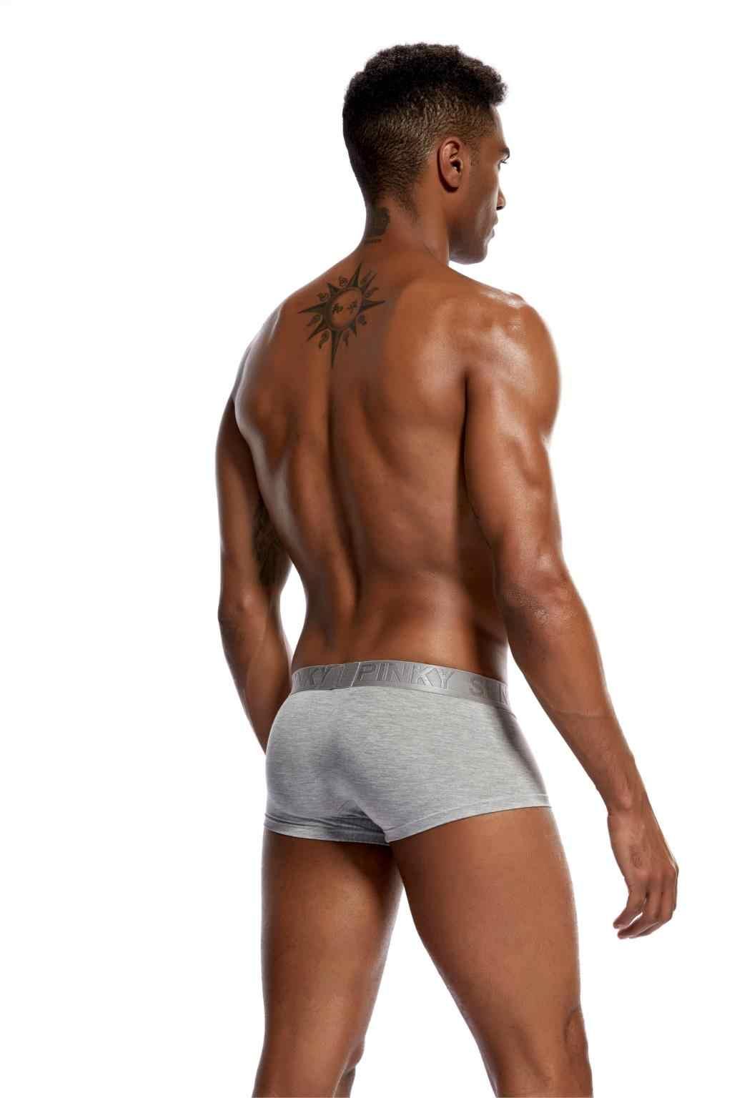 20 סגנונות מודאלי Underwears מתאגרפים מכנסיים קצרים לגברים סקסי לנשימה הומו פין פאוץ גברים של מתאגרף גזעי רך זכר תחתונים