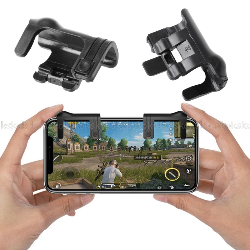 1 Pair Game Controller Mobile Phone Joysticks Assist Tools For STG FPS TPS Games JUN11 dropshipping
