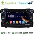 """Quad Core 7 """"1024*600 Android 5.1.1 Автомобильный Мультимедийный Dvd-плеер Радио Стерео FM DAB + 3 Г/4 Г WI-FI GPS Для Hyundai I40 2011-2014"""