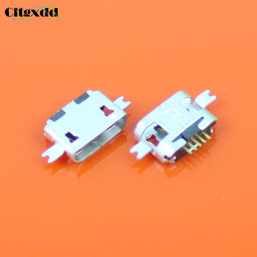 cltgxdd For Motorola MB525 USB Jack SMD/Sink type Micro USB Connector Charging Socket for ZTE/OPPO/Samsung/Nokia mobile phone