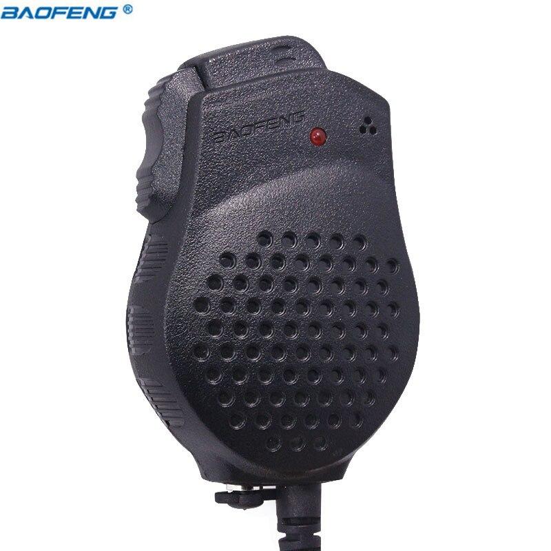 D'origine Baofeng UV-82 2 Double PTT Président Mic Microphone Pour Baofeng UV-82 UV-82HP GT-5TP Portable Radio Talkie Walkie BF-UV82