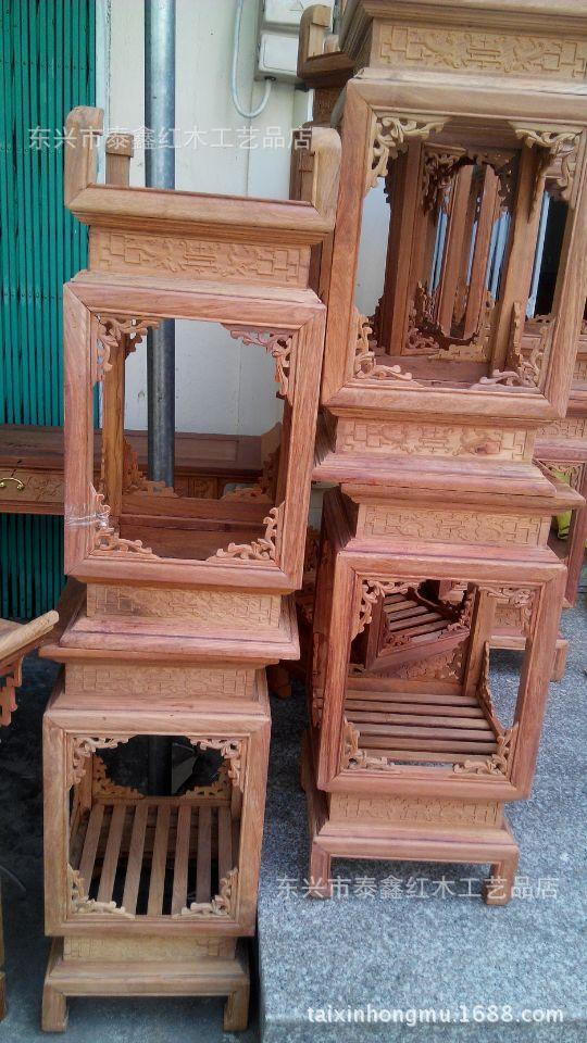 Vietnam Redwood Crafts Myanmar Pear Wood Small Furniture Corners Of