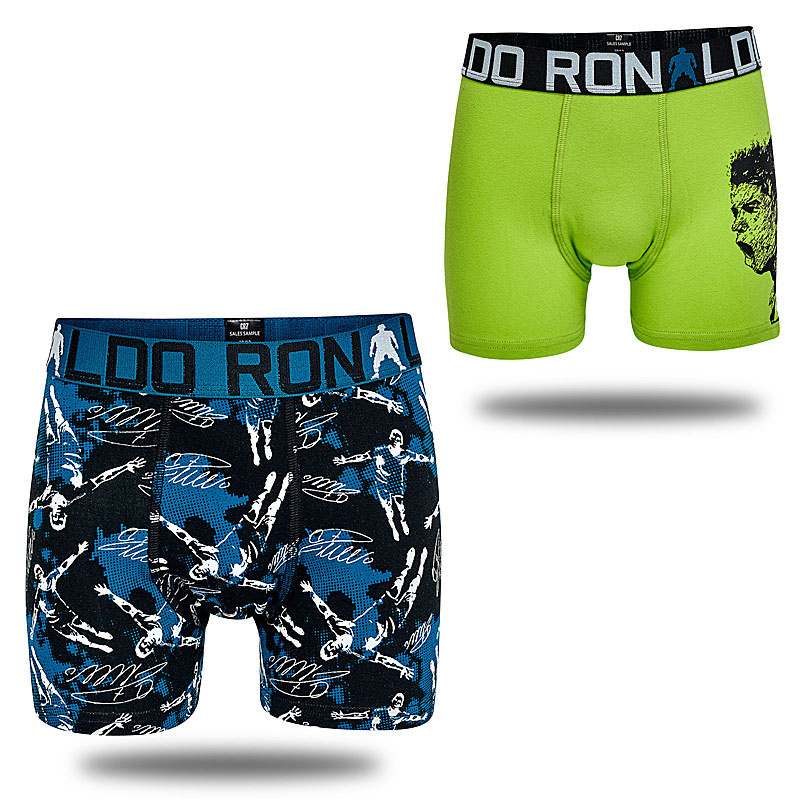 6Pieces Portugal Football Star Boys Multipack Boxers Denmark Brand Kids Trunk Child Panties Cotton Pants Teenage Underwear Cloth 4