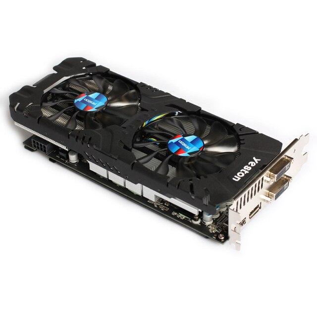 Yeston Radeon RX 570 GPU 4GB GDDR5 256 bit Gaming Desktop computer PC Video Graphics Cards support DVI/HDMI PCI-E X16 3.0 4