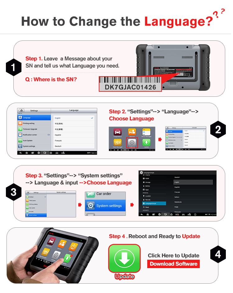 Image 5 - Autel MaxiCOM MK808TS as MK808 add TS601 TPMS Service OBD2 Car Diagnostic Tool OBD 2 Scanner Key Coding PK Maxisys MS906TS MK808-in Code Readers & Scan Tools from Automobiles & Motorcycles