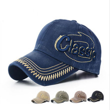 Vintage Classic Letters 3D Mmbroidery Baseball Cap Men Sun Hats 5 Colors Snapback Caps Free Shipping