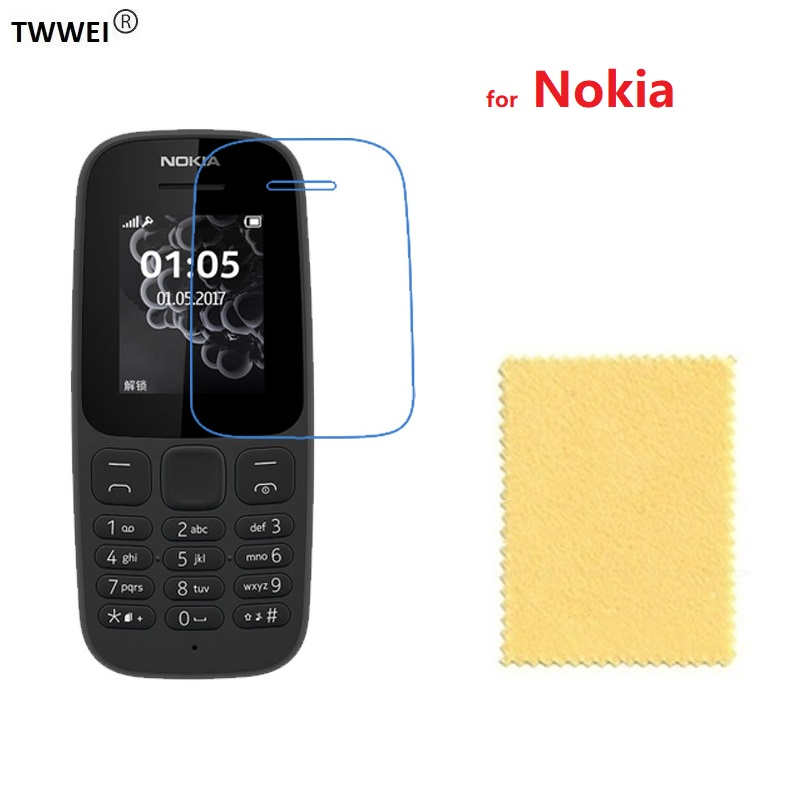Protective Film Screen Protector for <font><b>Nokia</b></font> <font><b>230</b></font> 3310 515 <font><b>230</b></font> 225 222 216 215 130 <font><b>Nokia</b></font> 105 2017 <font><b>LCD</b></font> Screen Protector Film Foil image