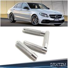 SRXTZM для Mercedes Benz Cla Gla C E Glc Gle Glk класс W176 W205 W213 X253 W166 W212 дверной замок булавки ручка с болтом Кнопка накладка