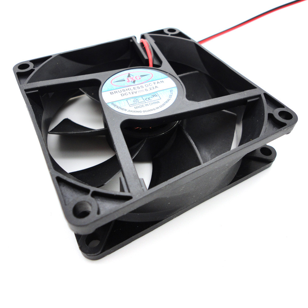 NEW Big promotion Portable 1pcs <font><b>80mm</b></font> <font><b>fan</b></font> cooler <font><b>12V</b></font> 4Pin DC Brushless <font><b>PC</b></font> Computer Cooling <font><b>Fan</b></font> 1800PRM for video card wholesale image