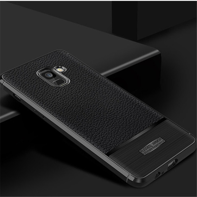 san francisco 369db 3119c US $5.88 |Thin tpu cover case For samsung galaxy a8 plus 2018 back cover  phone shell bag original accessories-in Fitted Cases from Cellphones & ...