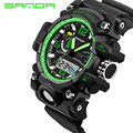 2016 New SANDA Watch Men G Style Waterproof Sports Watches S-Shock Men's Analog Quartz Digital Watches