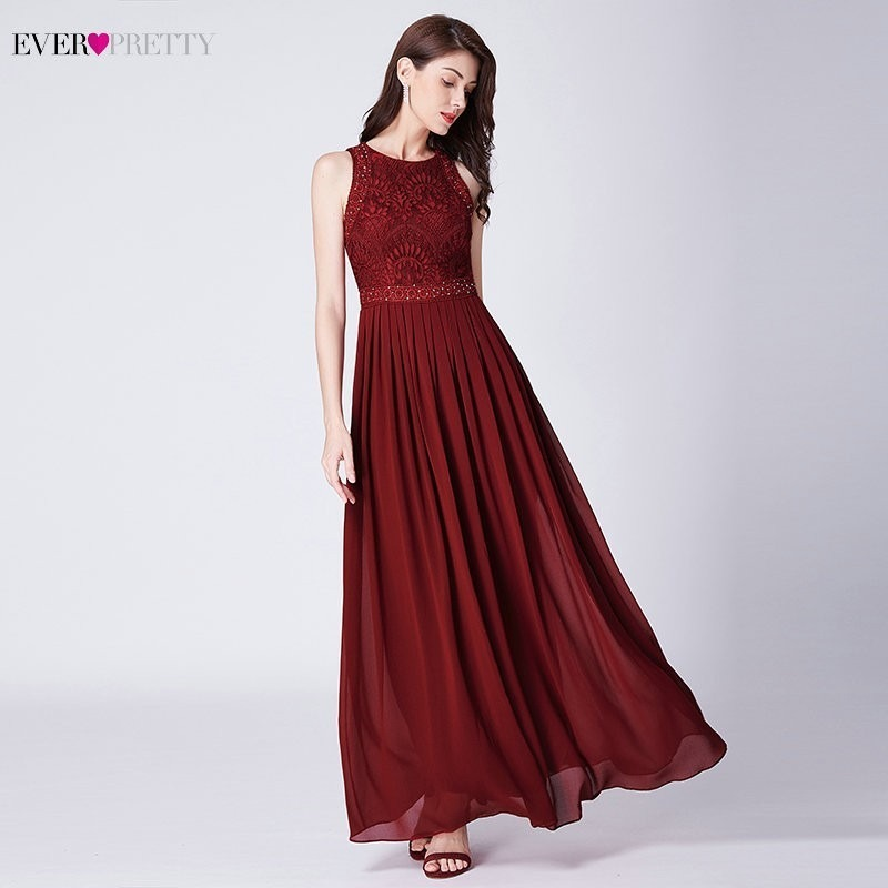 98ad4d1aef314 Lace Mermaid Prom Dresses Long 2019 Ever Pretty EP08838 Christmas ...